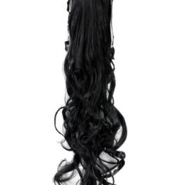 lasni čop za zavezat črni