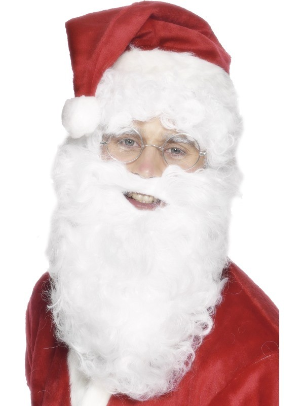 Božičkova brada in brki